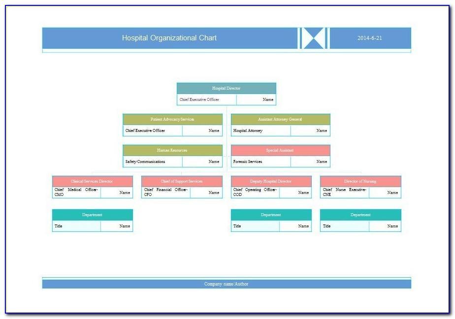 Organization Chart Template Word 2013