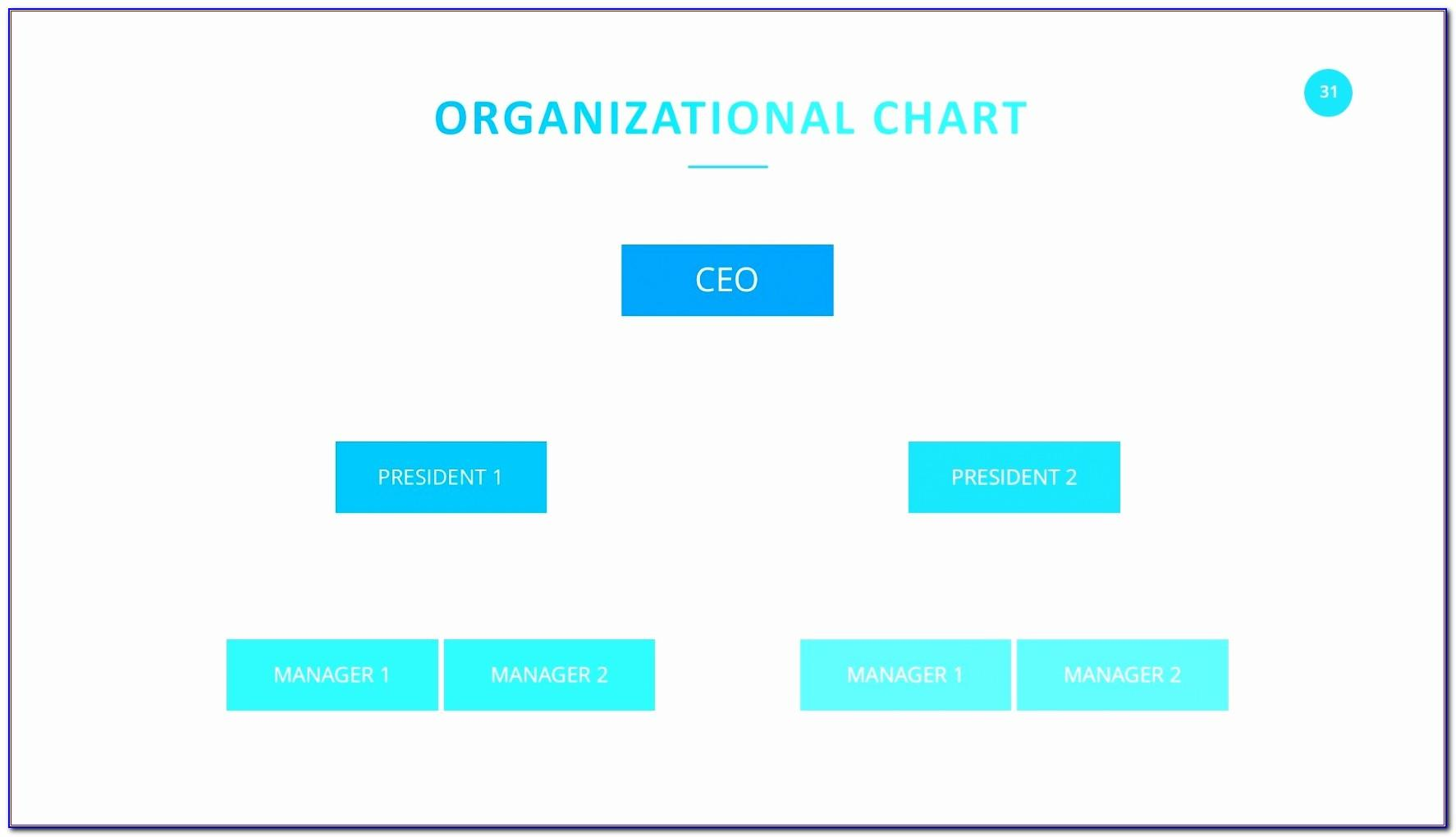 Organization Structure Powerpoint Template Free