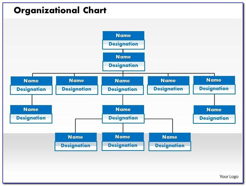 Organizational Chart Ppt Templates Free Download