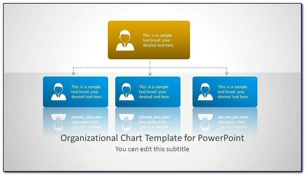 Organizational Chart Template Powerpoint Free