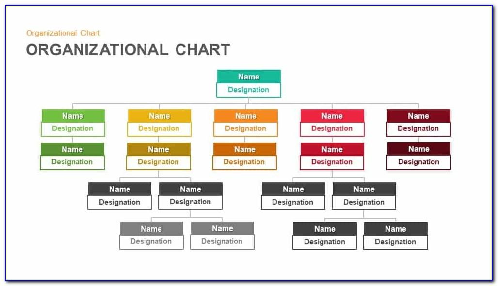 Organizational Charts Templates In Powerpoint