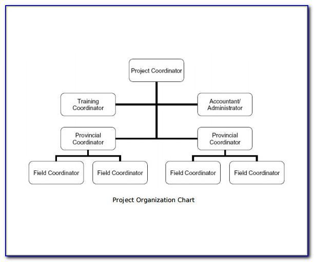 Organizational Flow Chart Template Free