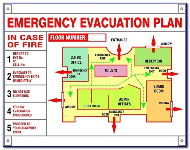 Osha Emergency Action Plan Example