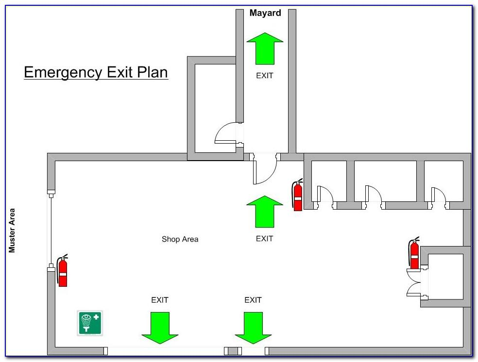 Osha Emergency Evacuation Plan Template