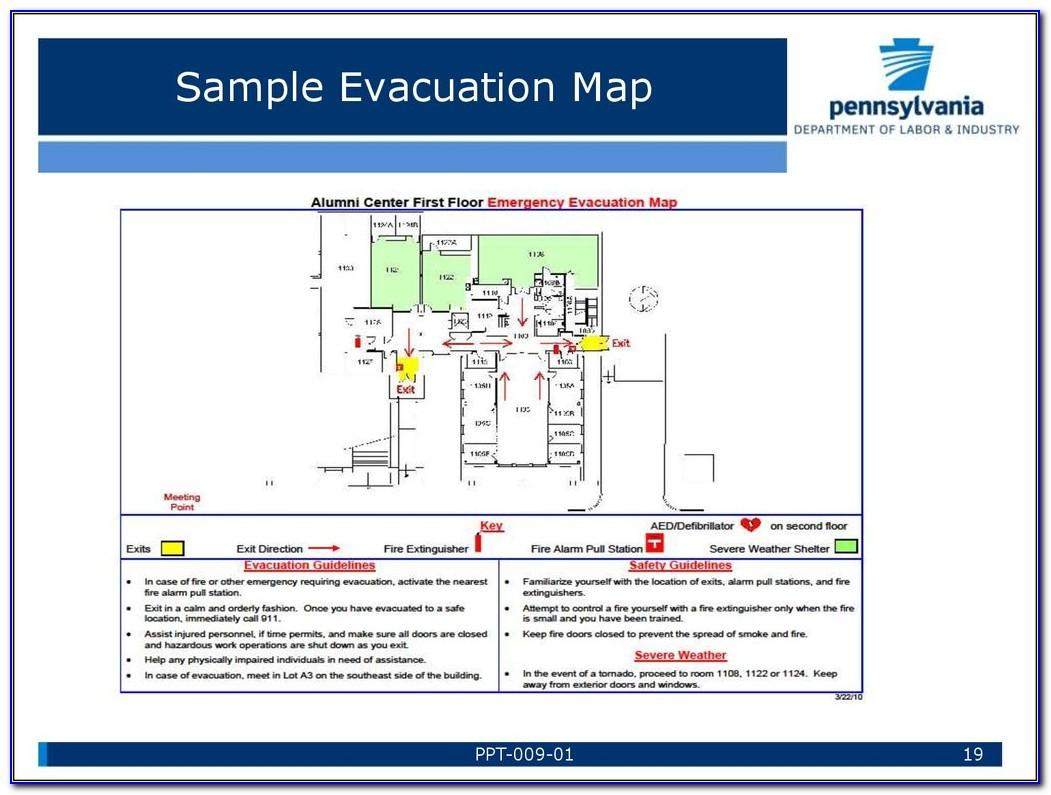 Osha Emergency Response Plan Sample