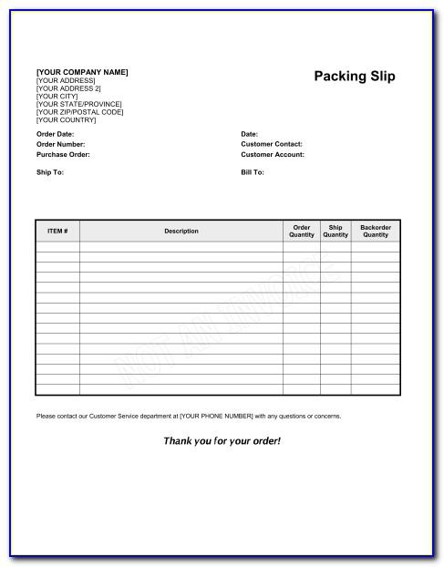 Packing Slip Creator Software