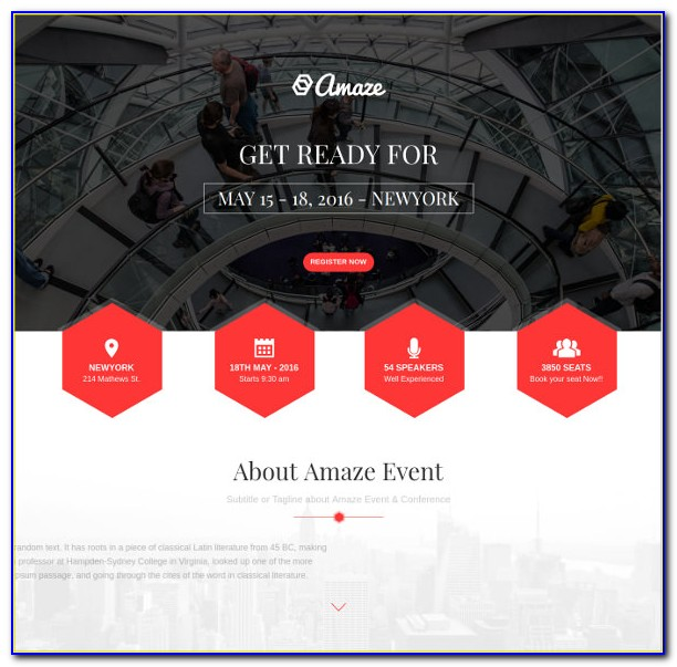 Parallax Website Html Template Free Download