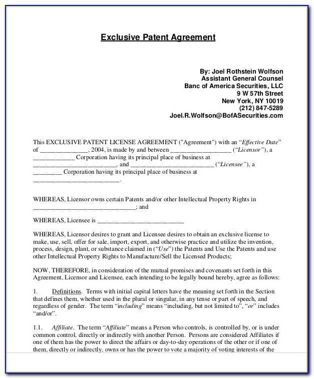 Patent Application Template Latex