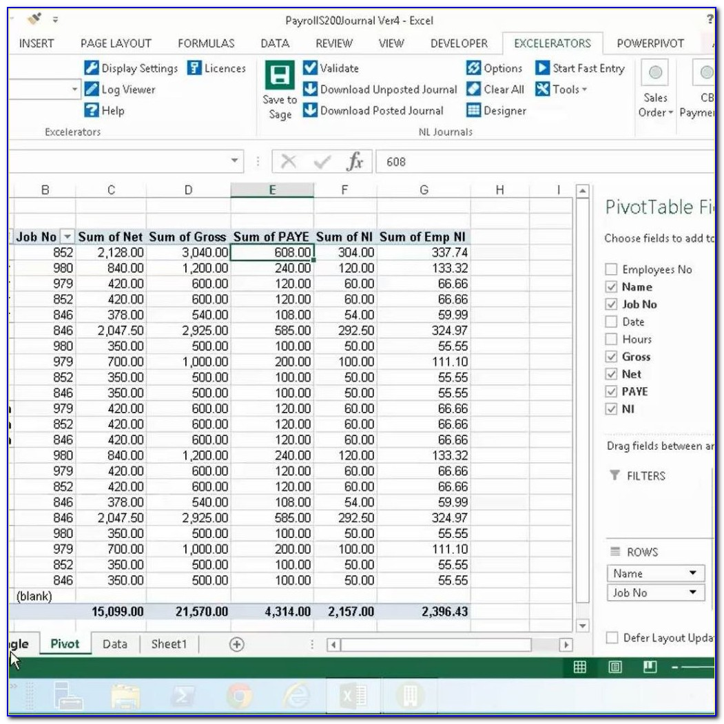 Payroll Budget Template Excel Uk