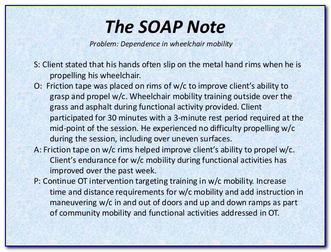 Pediatric Physical Therapy Assessment Template
