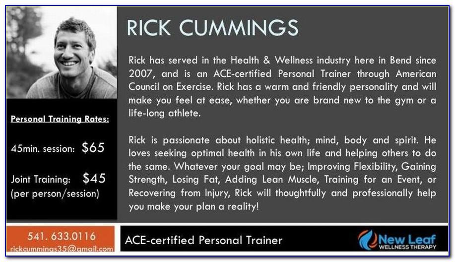 Personal Trainer Bio Samples