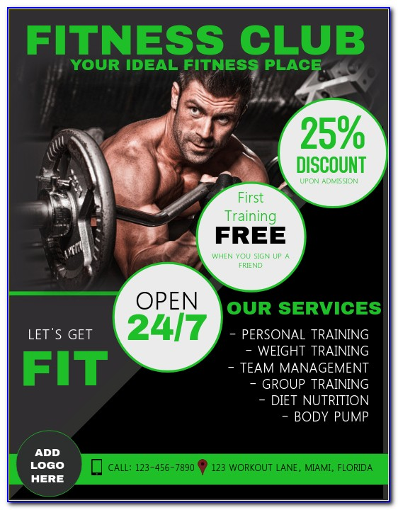 Personal Training Flyer Sample
