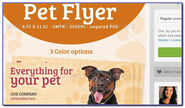 Pet Flyer Templates Free Printable