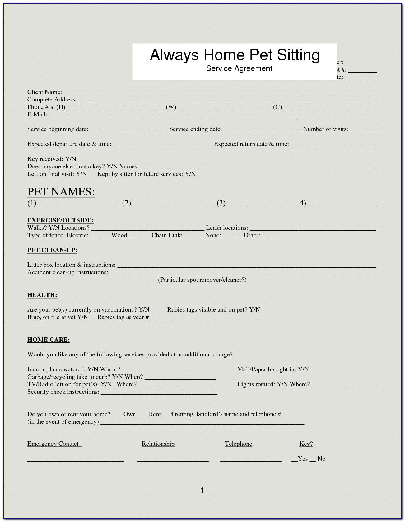 Pet Shop Flyer Templates Free