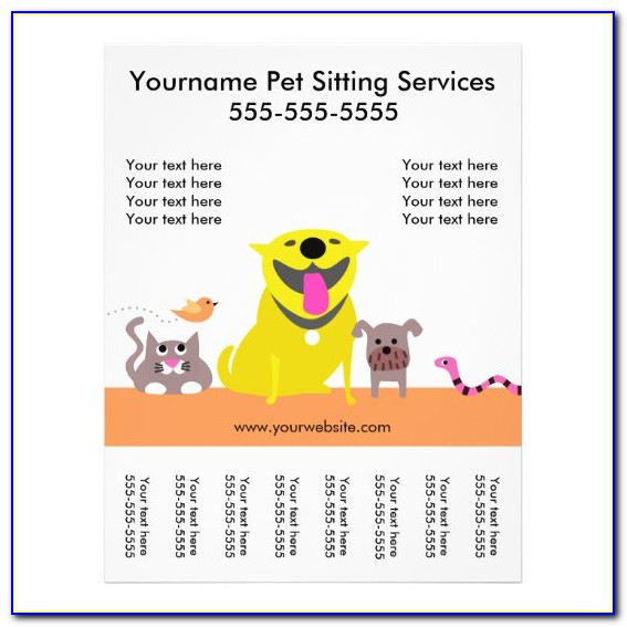 Pet Sitting Contract Template Free