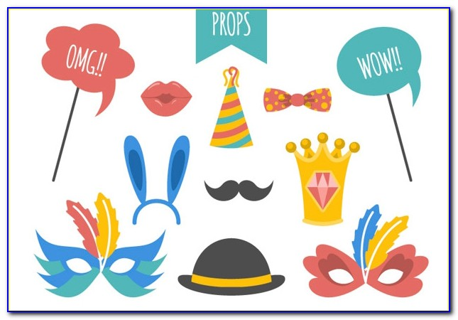 Photo Booth Prop Printables Free