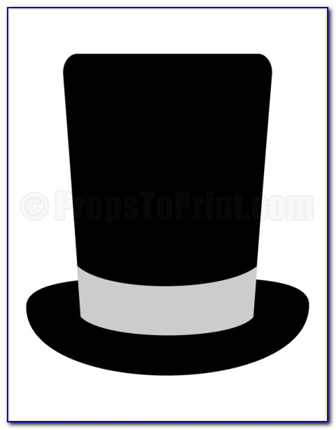 Photo Booth Prop Templates Hats