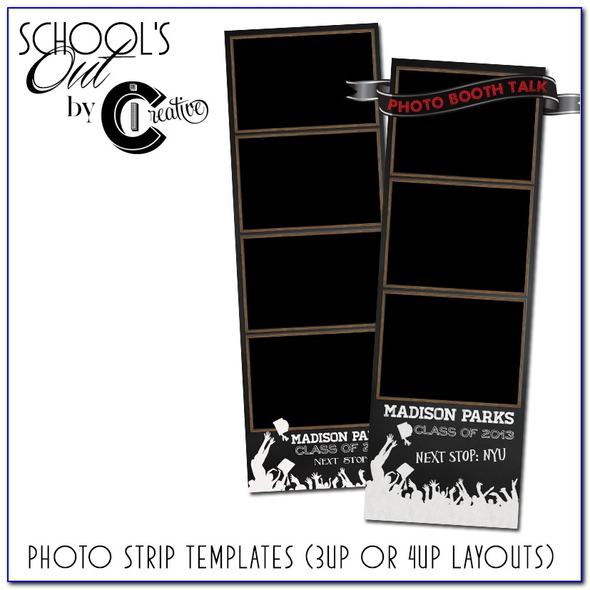 Photo Booth Strip Template For Word