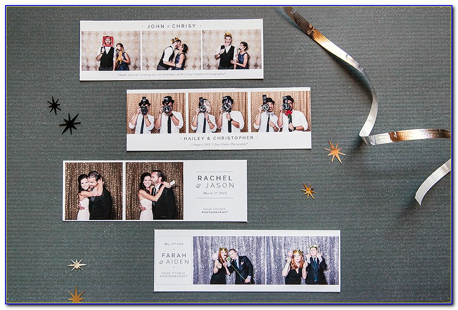 Photo Booth Strip Template Online
