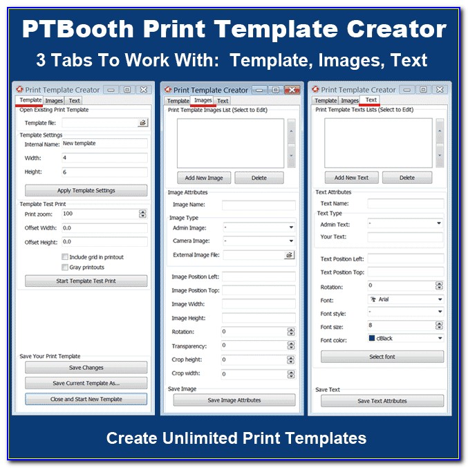 Photo Booth Template Creator