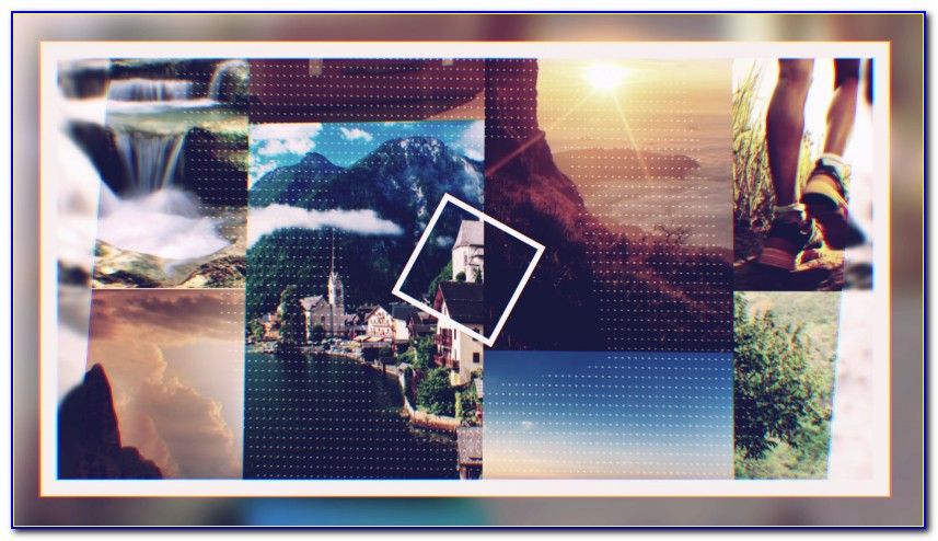 Photo Collage Template After Effects Free