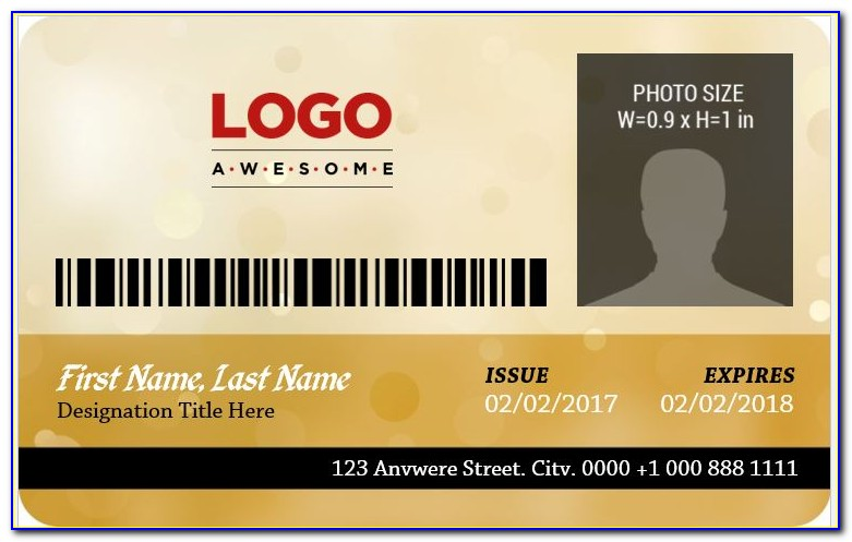 Photo Id Badges Templates Download