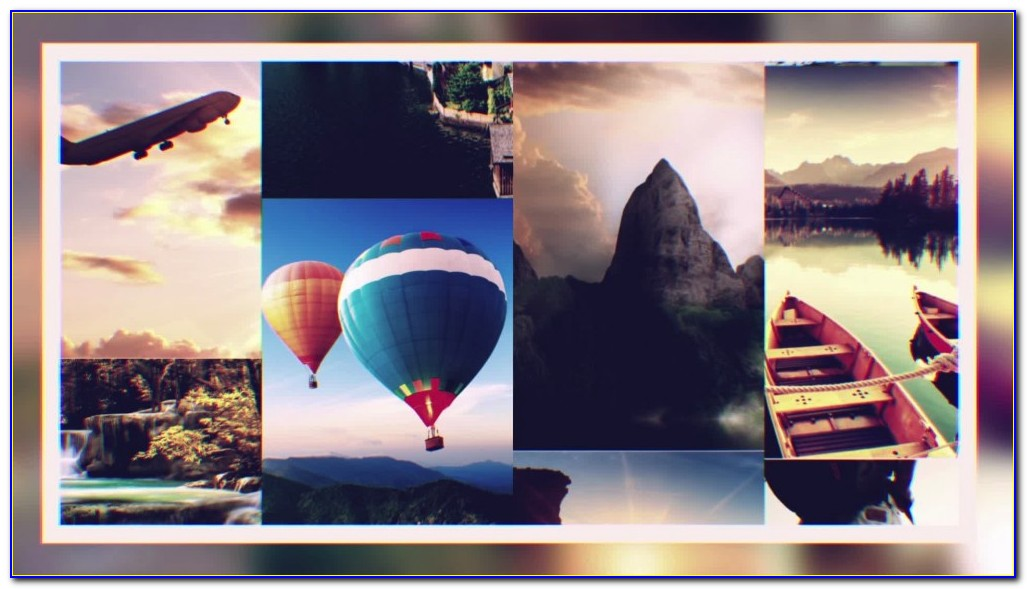 Photo Montage Template Photoshop