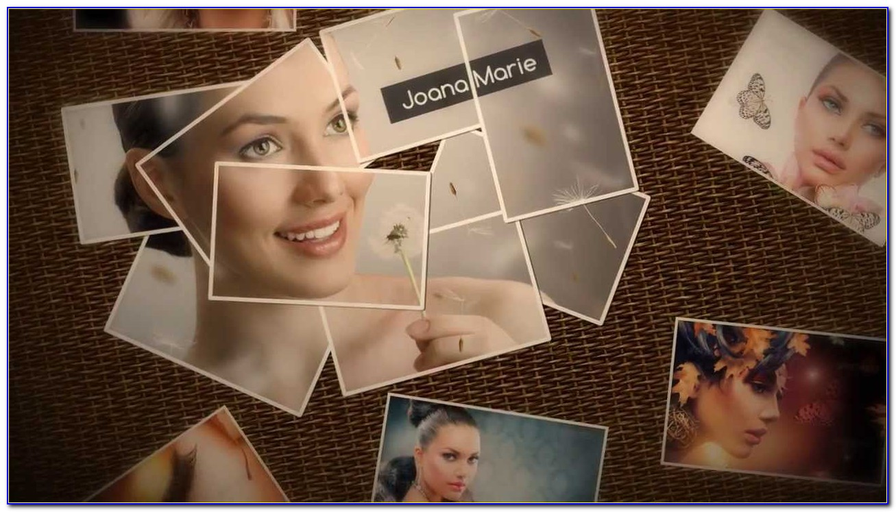 Photo Montage Templates After Effects