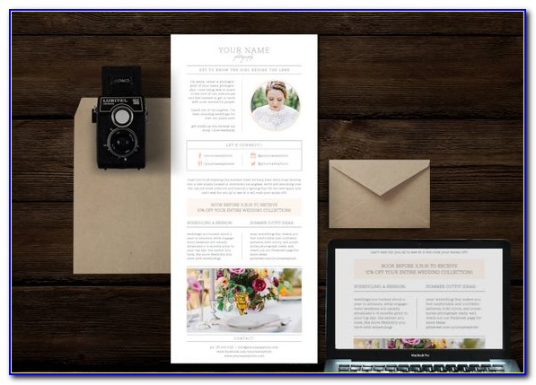 Photography Email Templates Free