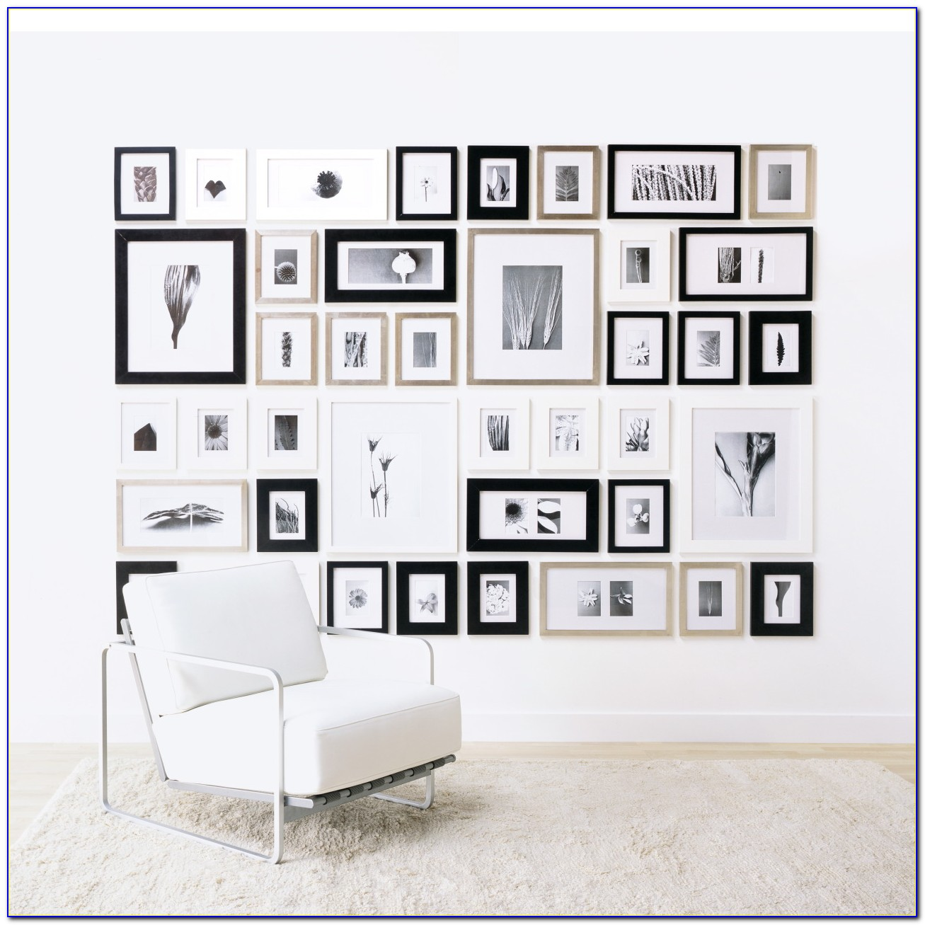 Picture Frame Wall Collage Template
