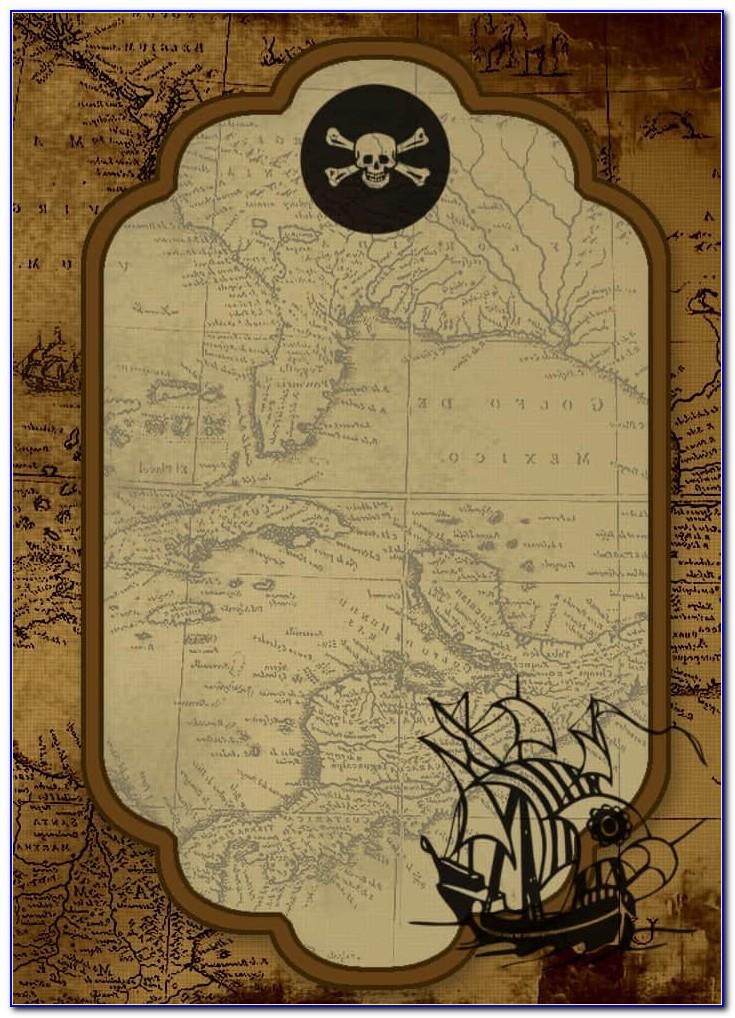Pirate Invitation Template Free Download