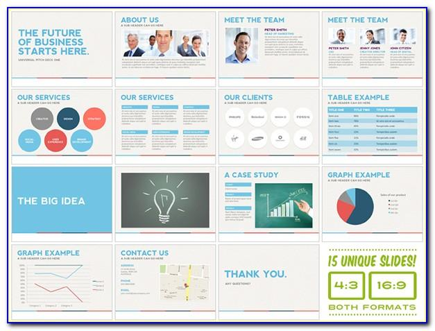 Pitch Deck Template Powerpoint Download