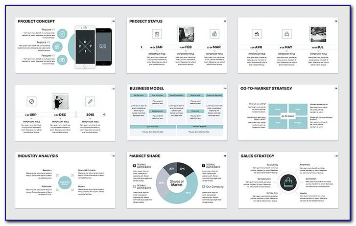 Pitch Modern Powerpoint Template Free Download