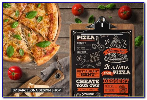 Pizza Menu Template Download Free