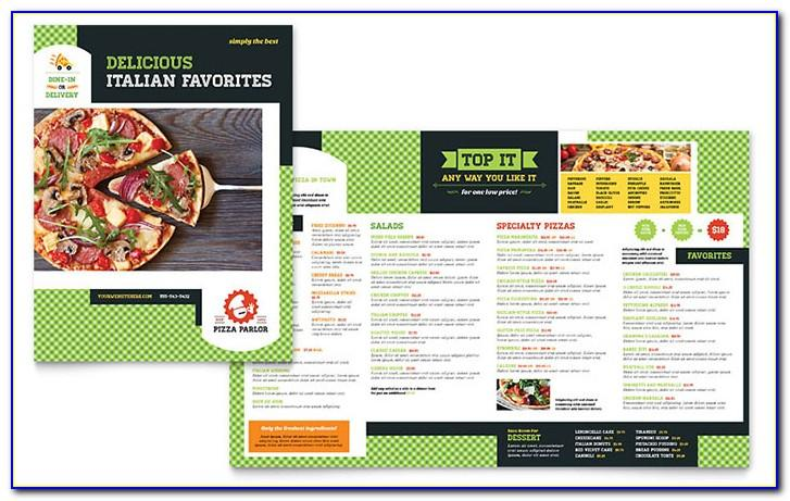 Pizza Menu Templates Microsoft Word