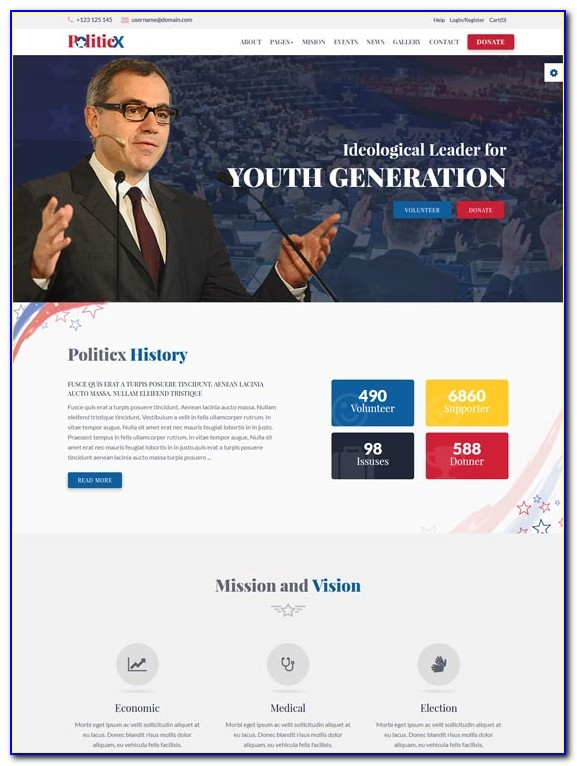Political Campaign Flyer Templates Free