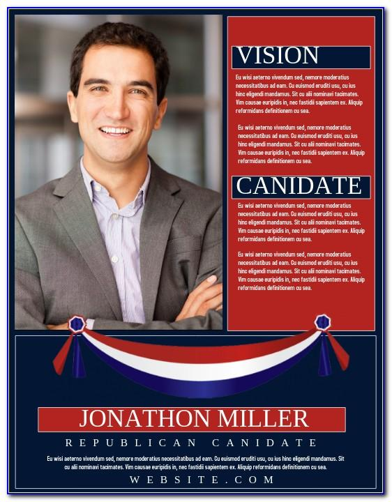Political Campaign Flyers Samples