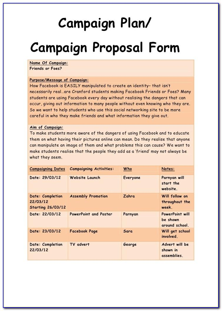 Political Campaign Fundraising Letter Templates