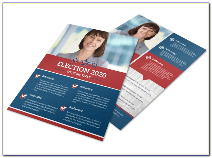 Political Door Hanger Template Free