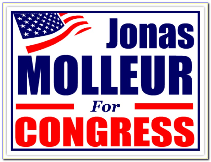 Political Mailer Template Free