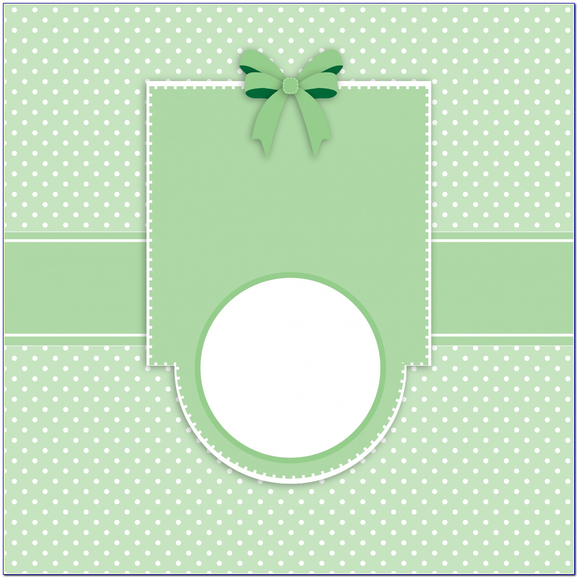 Polka Dot Baby Shower Invitations Templates