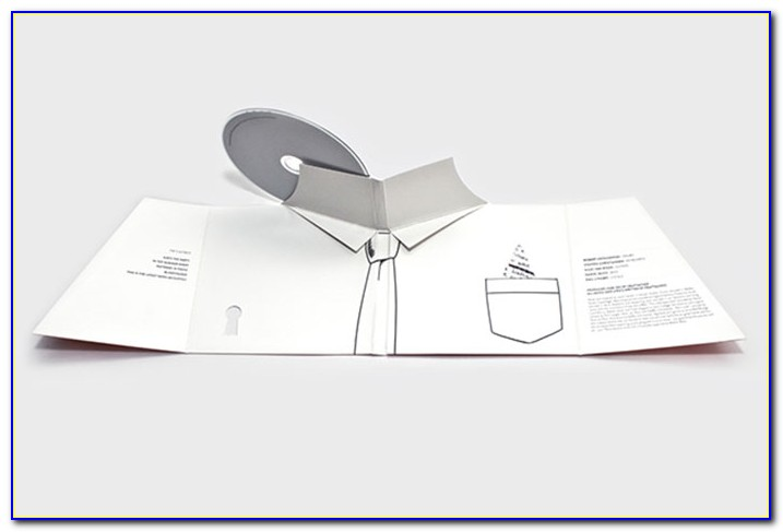 Pop Up Cd Packaging Template