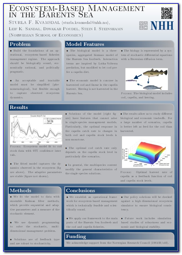 Poster Presentation Template Download Free