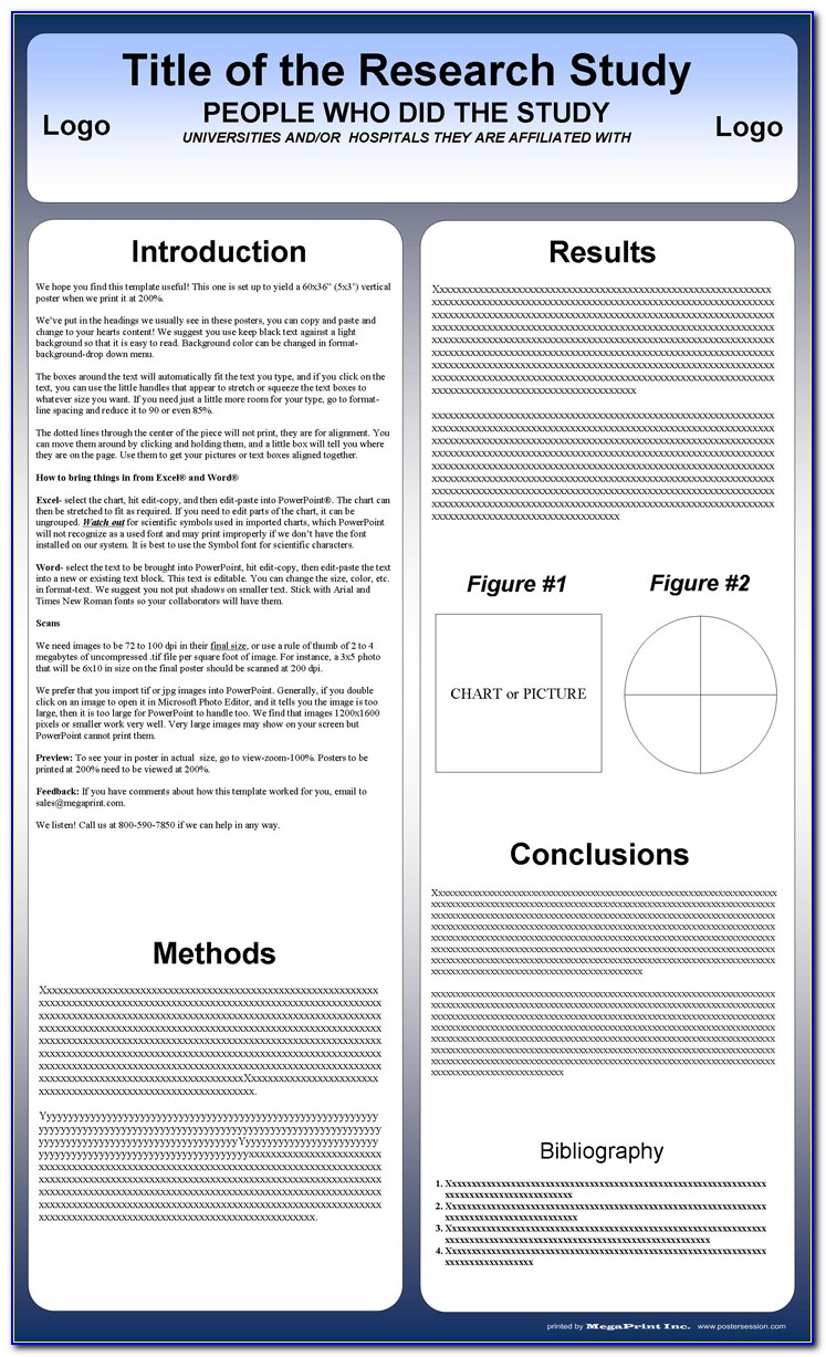 Poster Presentation Template Powerpoint Download
