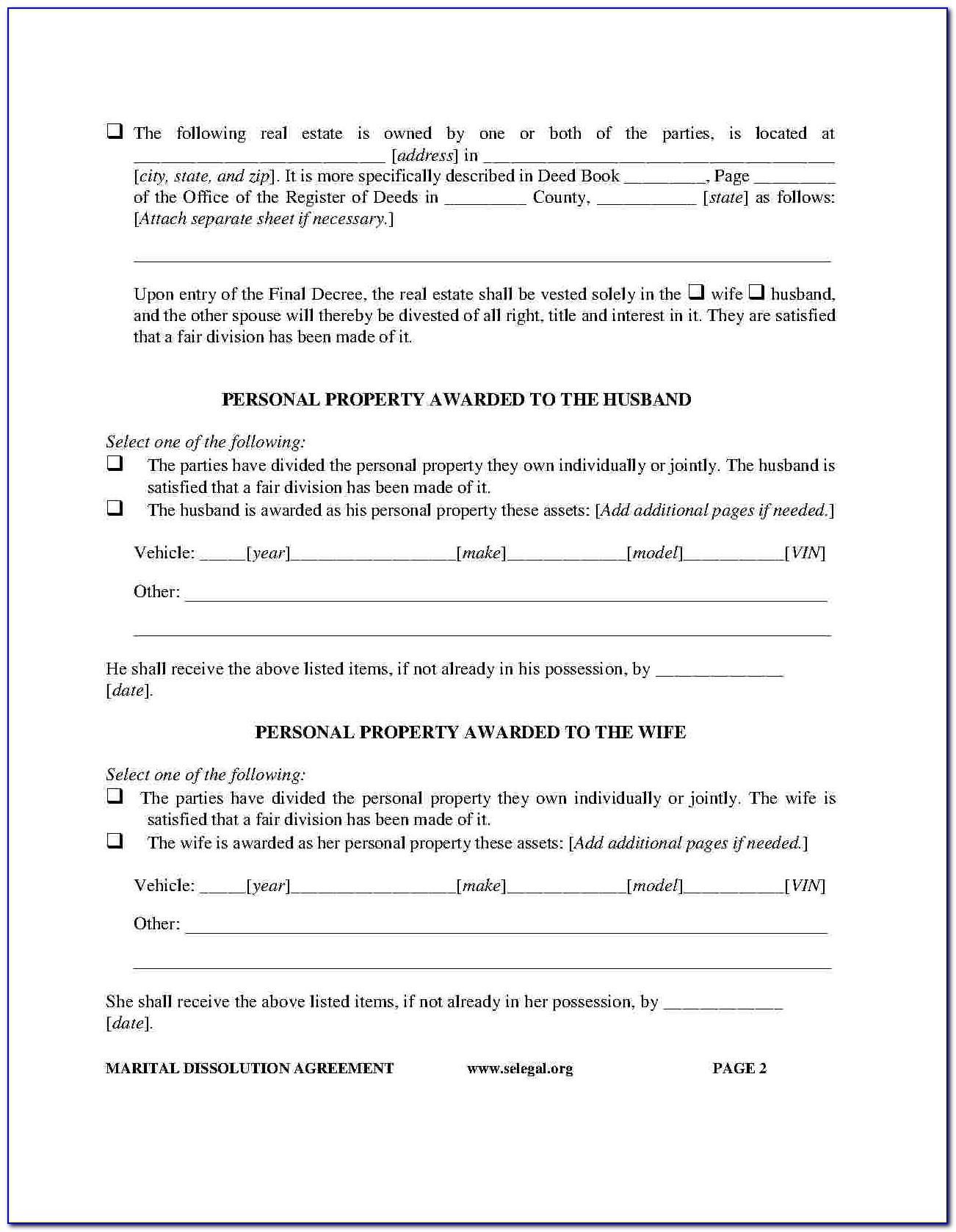 Postnuptial Agreement Florida Form Free
