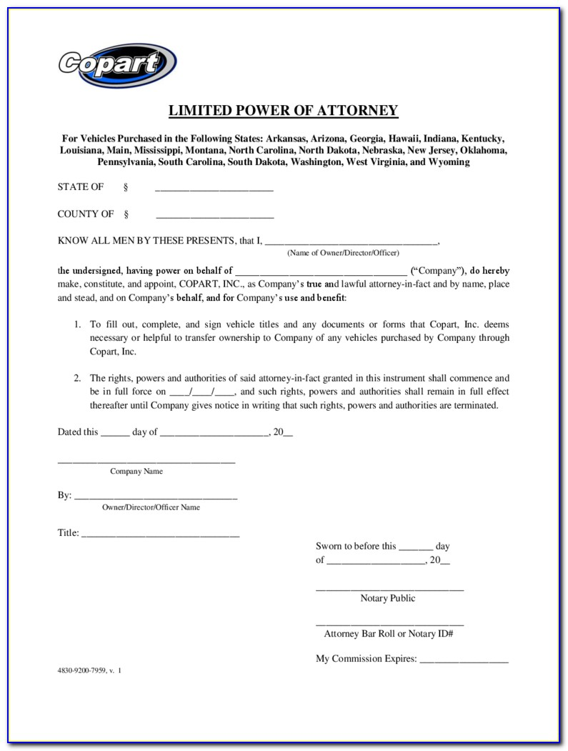 Power Of Attorney Form Nz Pdf