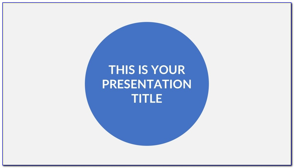 Powerpoint Master Slide Template