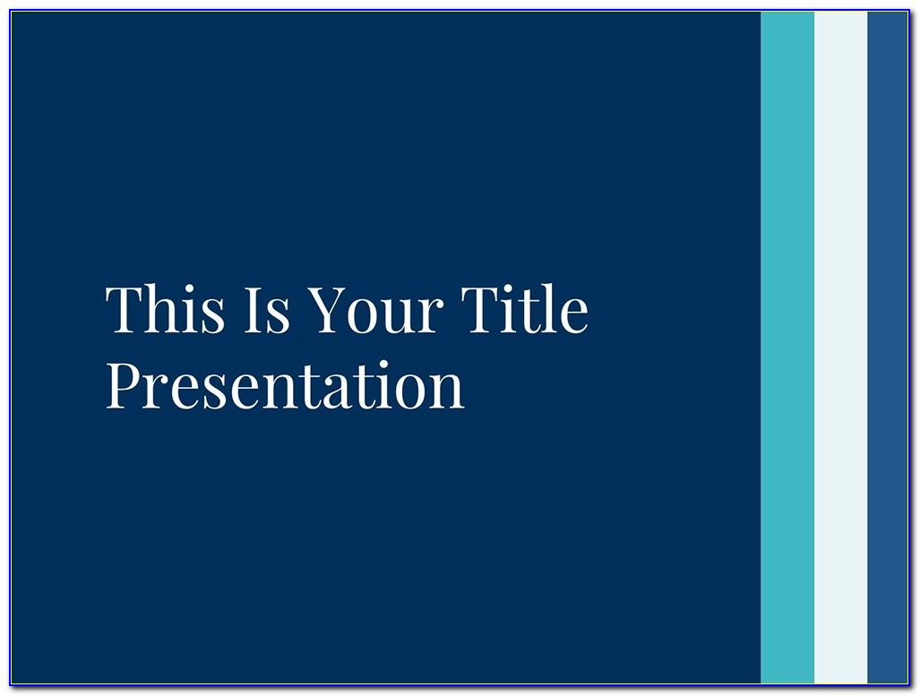 Powerpoint Master Slide Templates