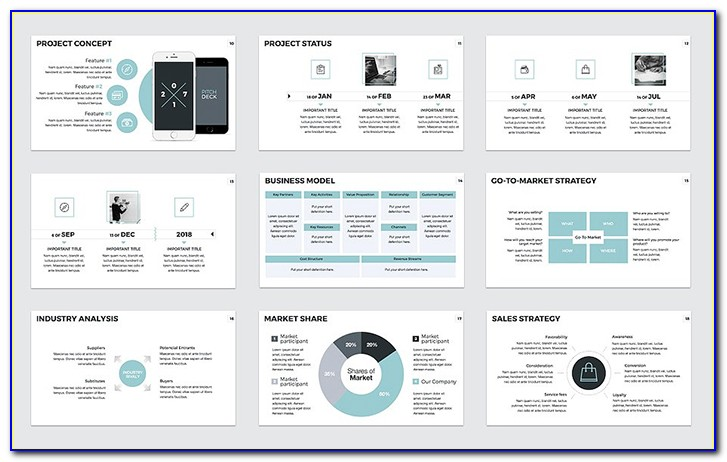 Powerpoint Pitch Deck Templates Free