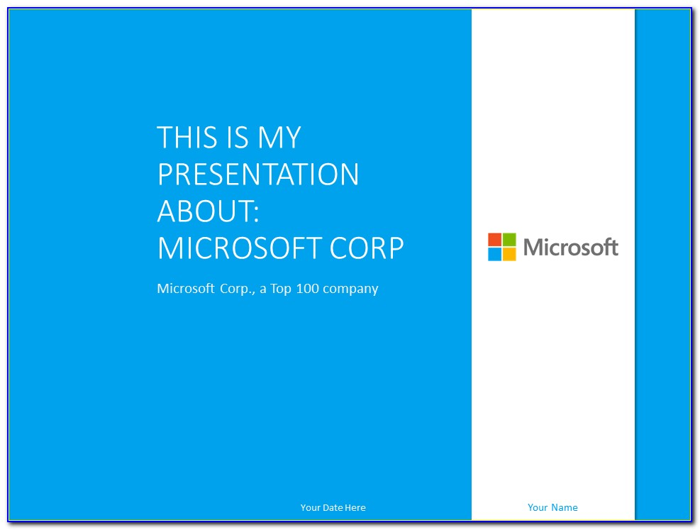 Powerpoint Presentation Templates Free Download